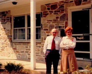 Old photo of Lily and Patrick O'Donnell Irish immigrants