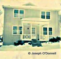 The Flourtown Pennsylvania home of Irish American Patrick Joseph O'Donnell