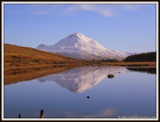 A Snowy Mount Errigal