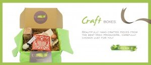 A gift box of crafts from Ireland