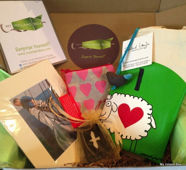 Contents Of My Ireland Box April Craft Box