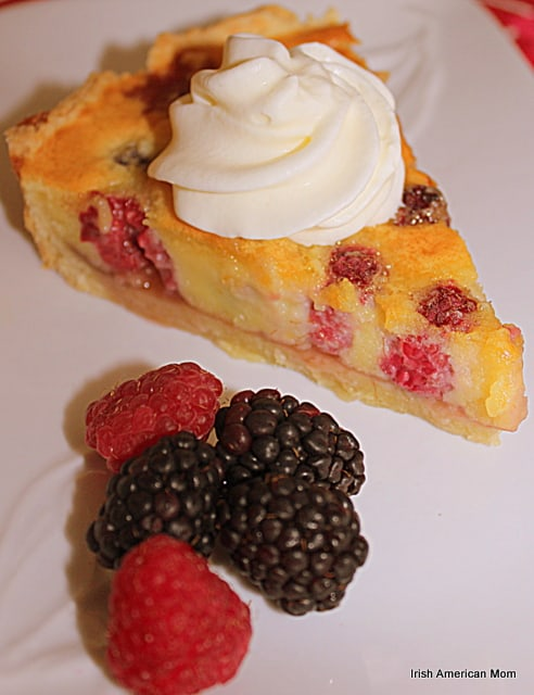 Berry Almond Pie