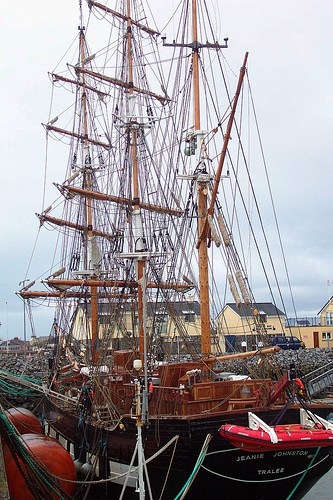 Replica Of The Jeanie Johnston