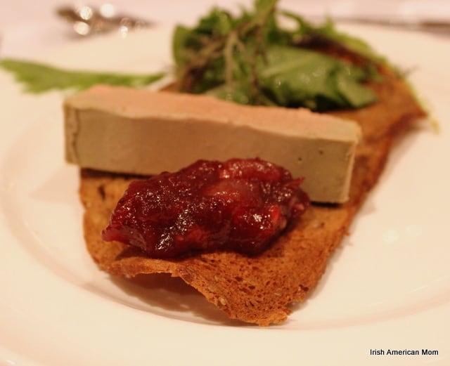 Mixed Achonry Lettuce Leaf With Blacklion Duck Liver Parfait
