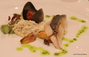 Irish seafood starter