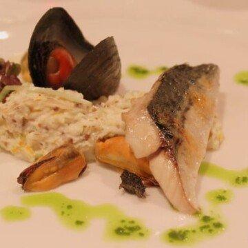 Irish seafood starter