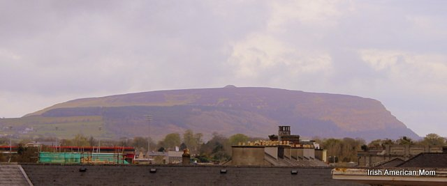 View Of Knocknarea From The Glasshouse Hotel