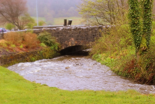 Stone Bridge At Glencar Waterfall
