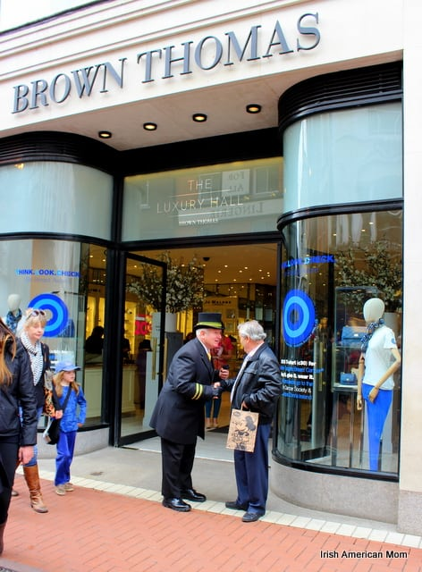 Brown Thomas Greeter