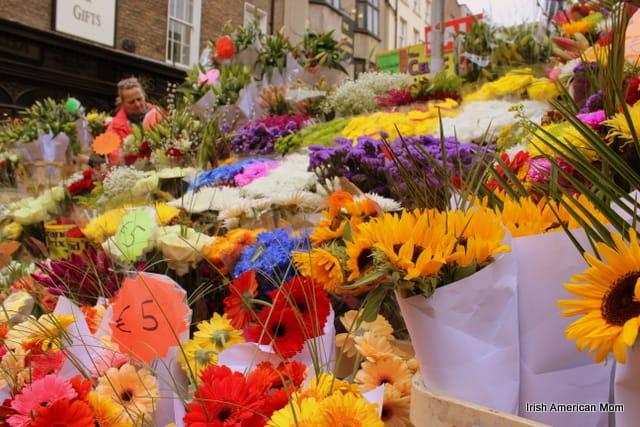 Flower Stall On Grafton Street