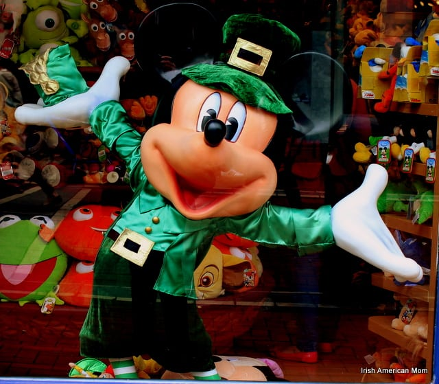 Mickey Mouse On Grafton Street, Dublin