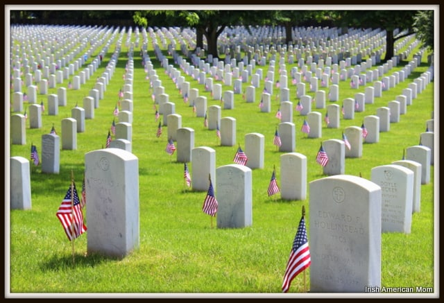 Memorial Day Flags at Zachary Taylor Cemetry, Louisville