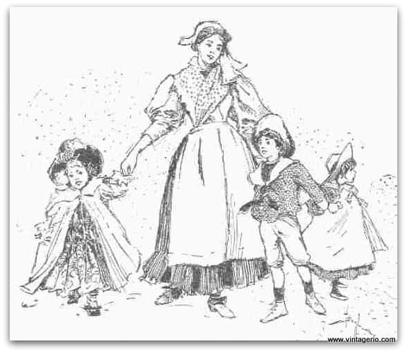 Mother And Children - www.vintagerio.com