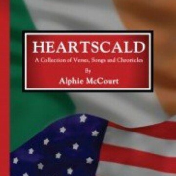 Text on a red highlight box over an Irish and American flag