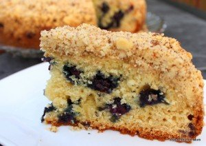 Blueberry Lemon Crumb Cake