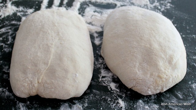Shaping bread loaves