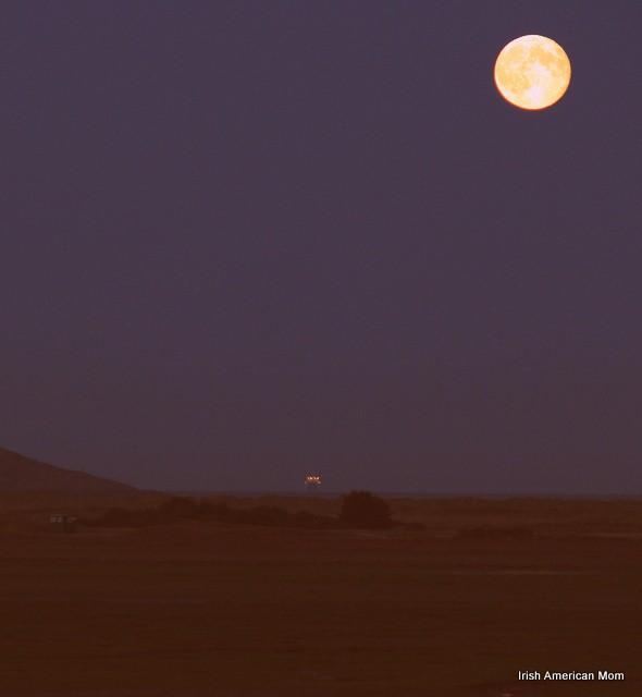 Full Moon Over Dublin Bay