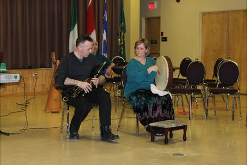 Uilleann Pipes and Bodhran