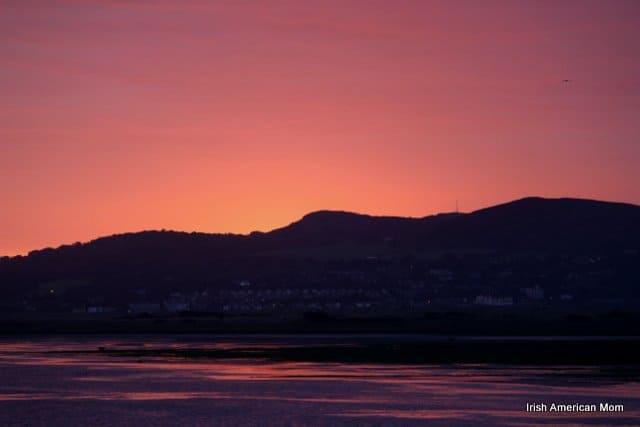 Dublin Sunrise Over Howth