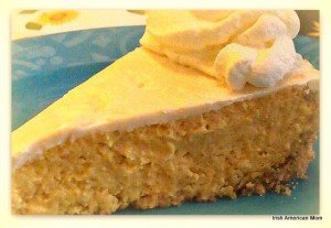 Irish Cream Pumpkin Cheese Cake