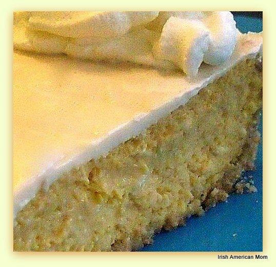 Irish cream infused pumpkin cheesecake