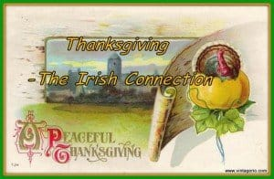 Connecting Ireland to the history of Thanksgiving