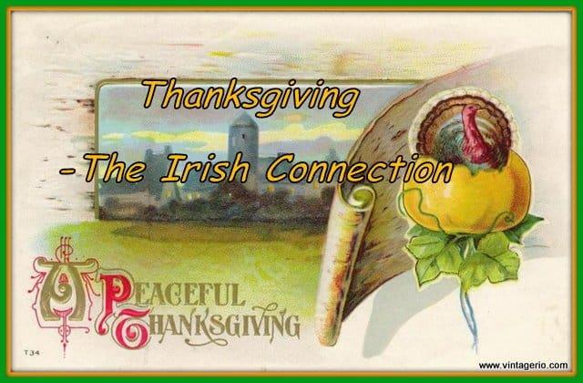 Thanksgiving - The Irish Connection