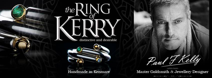 Paul F Kelly master goldsmith designed the ring of Kerry