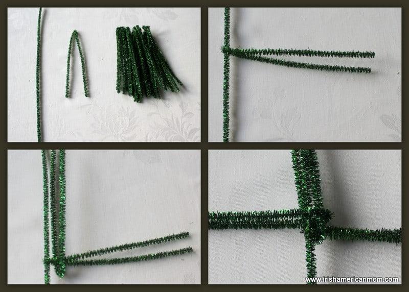Steps To Make A St. Brigid's Cross