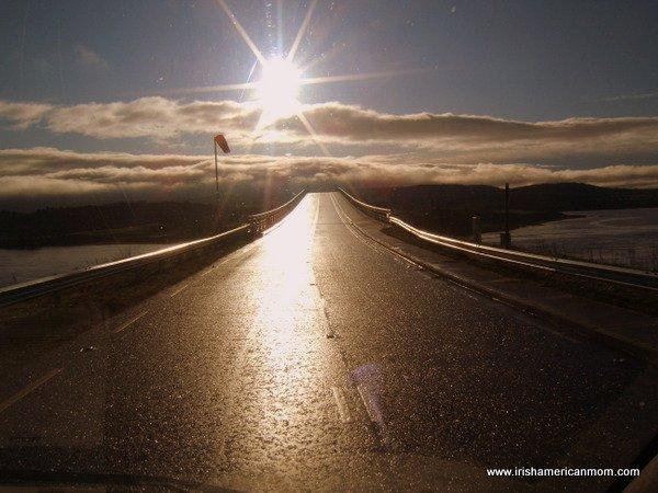 Sunset and Twilight In Ireland