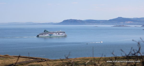 Ferry In Dublin Bay