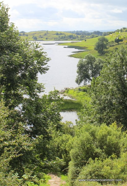View of Lough Gur from top of the scenic walk