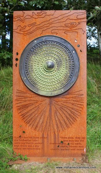 Informational Sign at Lough Gur