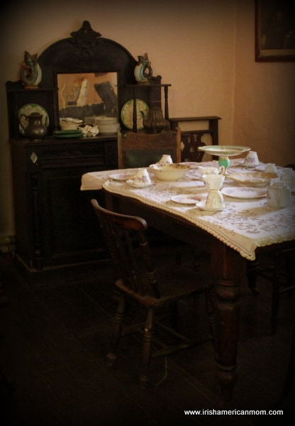 Table In An Irish Parlour