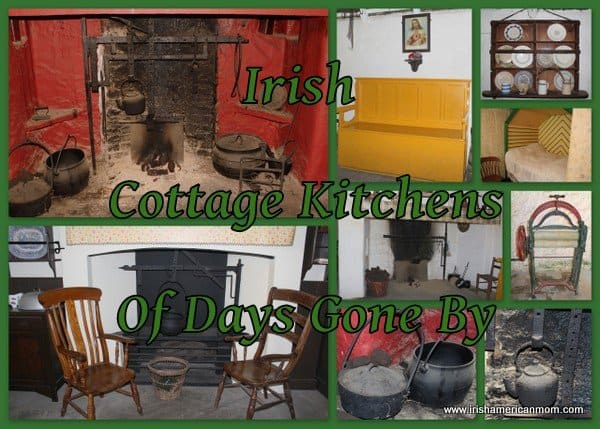 Irish cottage kitchen photo collage