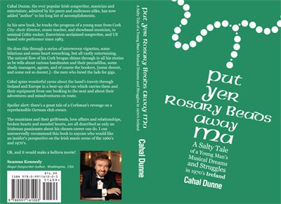 Cover of book by Cahal Dunne Irish entertainer in America