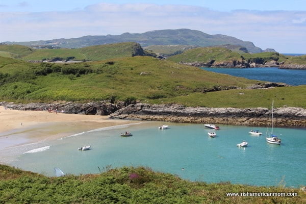 Sandy Beach in Ards Friary, Co. Donegal, Ireland