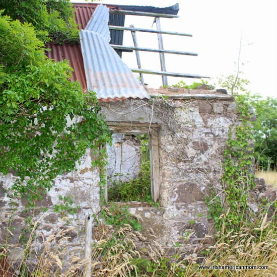 An Old Irish House Ruin