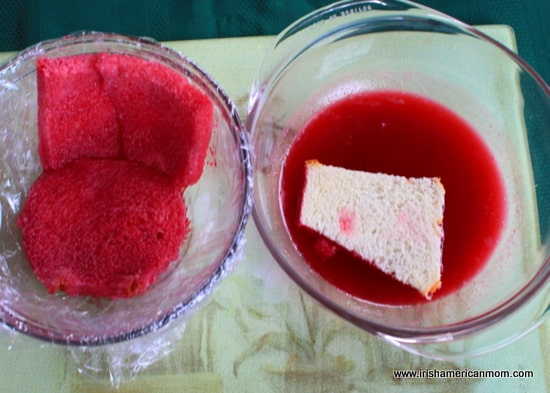 Building a summer pudding