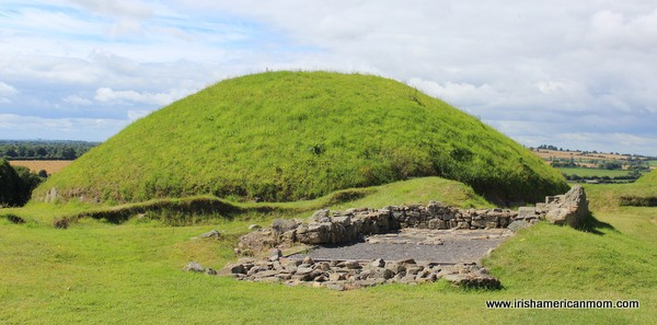 Knowth, a megalithic burial site in County Meath