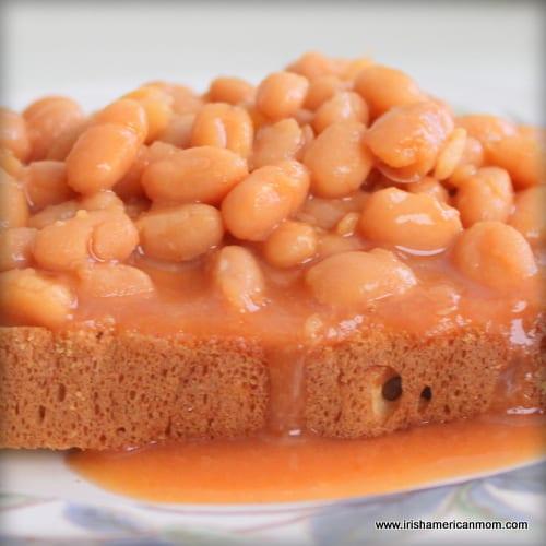An Irish Lunch - Beans on Toast