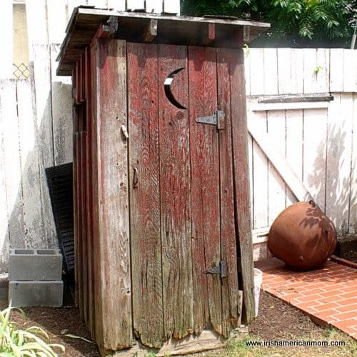 An old outhouse - Copy
