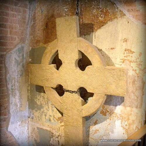Celtic Cross at the Baltimore Irish Museum