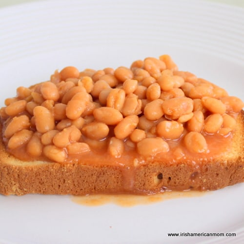 English Lunch - Beans on Toast