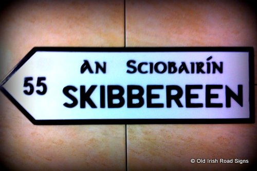 Irish Signpost - Skibbereen