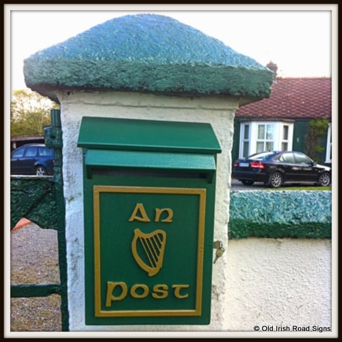 Irish Style Mail Box - An Post