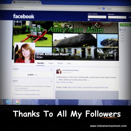 Thanks to my Facebook Fans