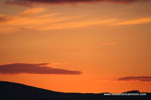 Irish Sky at Twilight