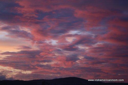 Mackrel Sky in Ireland