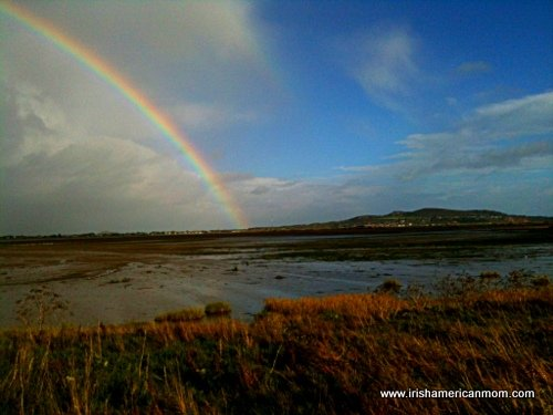 Rainbow over Sutton, County Dublin